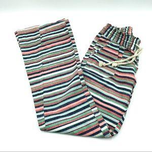 Roxy Striped Linen Pants